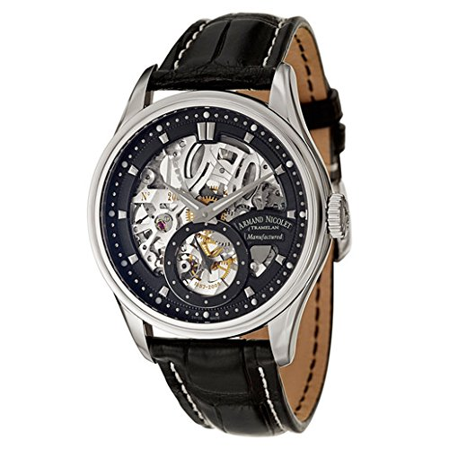 Armand Nicolet LS8 Men's Manual Watch 9620S-NR-P713NR2