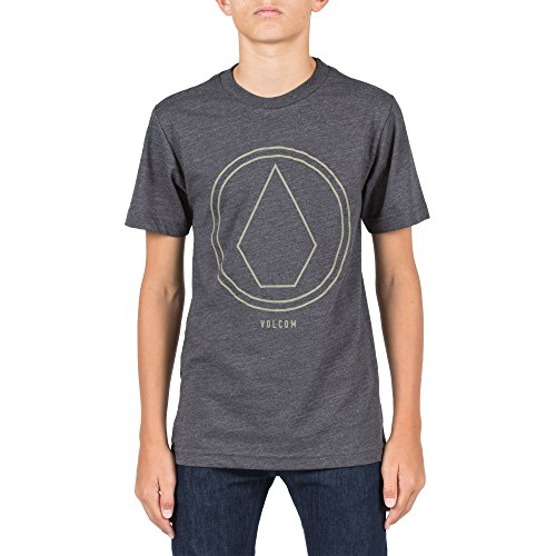 T-shirt Stone Youth (Volcom Big Boys' Pinline Stone Short Sleeve Tee Youth)