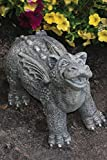 Little Darling Dragon Baby Greenbank - Solid Cast Stone Garden Statue - a Great Home or Garden Gift Idea - Durable, Lifelike Sculpture - Fun Exterior and Interior Art