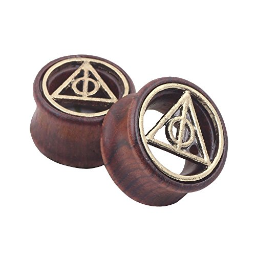 Deathly Hallows Organic Wood F