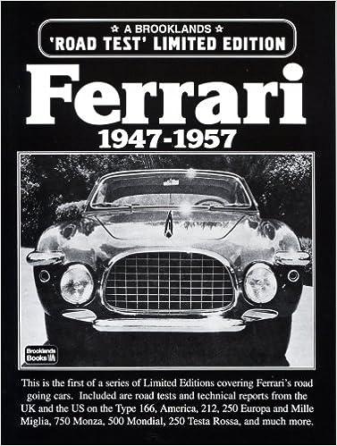 Ferrari 1947-1957 Road Test Limited Edition