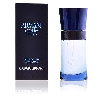 Giorgio Armani Code Colonia Eau de Toilette Spray For Men - 125ml Fragrance at amazon