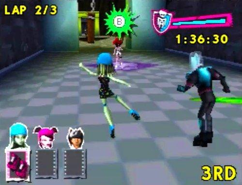 Amazoncom Monster High Skultimate Roller Maze  Nintendo DS
