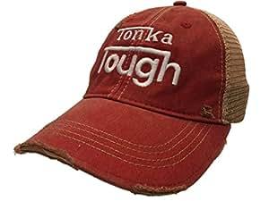 Tonka rígida camiones Retro marca rojo Vintage gorra de malla ajustable Cap