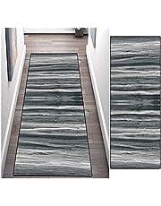 Runner Rugs Hallway Carpet Non-Slip Washable Decor Mat Kitchen Living Bedroom Entryways Rug Customizable