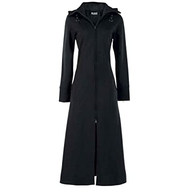 8242ecd28e60 Poizen Industries - Raven Coat Mantel Girls  Amazon.de  Bekleidung