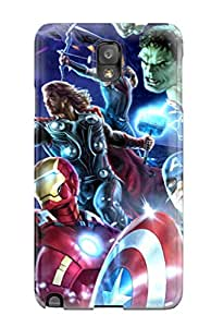 Snap-on Avengers Poster Case Cover Skin Compatible With Galaxy Note 3