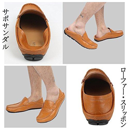 Sorliva Schuhe Schuhe Blau Driving Sohle Slipper Casual A Herren Weiche Schuhe Slipper Flats IRwqOrI