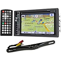 Power Acoustik PDN-626B DVD/CD Car GPS Navigation Receiver+Bluetooth/USB+Camera