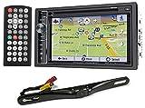 Best POWER ACOUSTIK Backup cameras - Power Acoustik PDN-626B DVD/CD Car GPS Navigation Receiver+Bluetooth/USB+Camera Review