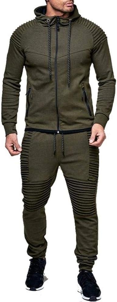 Ags Moda Chaqueta Pantalones Deportivos Hombres Chandal Sudadera Con Capucha Primavera Otono Hombres Ropa Sudaderas Hombre Traje De Pista Conjunto Amazon Es Ropa Y Accesorios