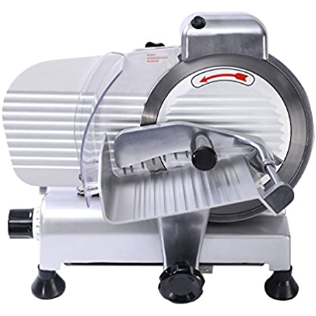 Giantex Blade Commercial Meat Slicer Deli Meat Cheese Food Slicer Industrial Quality 8