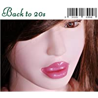 Backto20s® Deep Throat Sexy Girl Inflatable Semi-solid Silicone Love/sex Doll