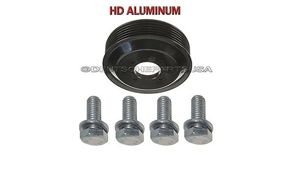 1151704077/Bomba de agua Polea Aluminum HD