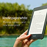Kindle Paperwhite (10th gen) - 6' High Resolution Display with Built-in Light, 8GB, Waterproof, WiFi