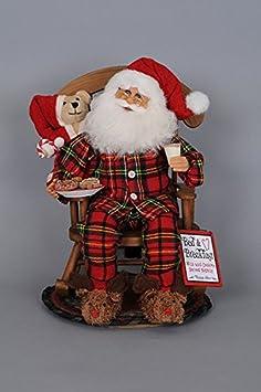 Karen Didion Midnigh Snack Rocking Chair Santa