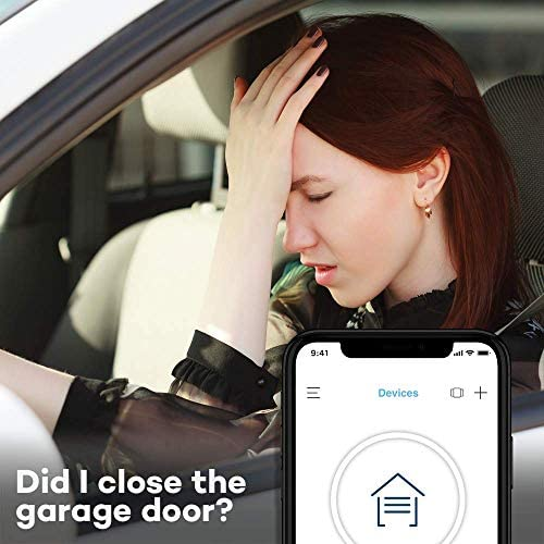 Chamberlain Group myQ Smart Garage Door Opener Chamberlain MYQ-G0301 – Wireless and Wi-Fi enabled Garage Hub with Smartphone Control 516DWrM pGL