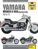 Yamaha XVS650 & 1100 (Drag Star, V-Star) '97 to '11 (Haynes Service & Repair Manual)