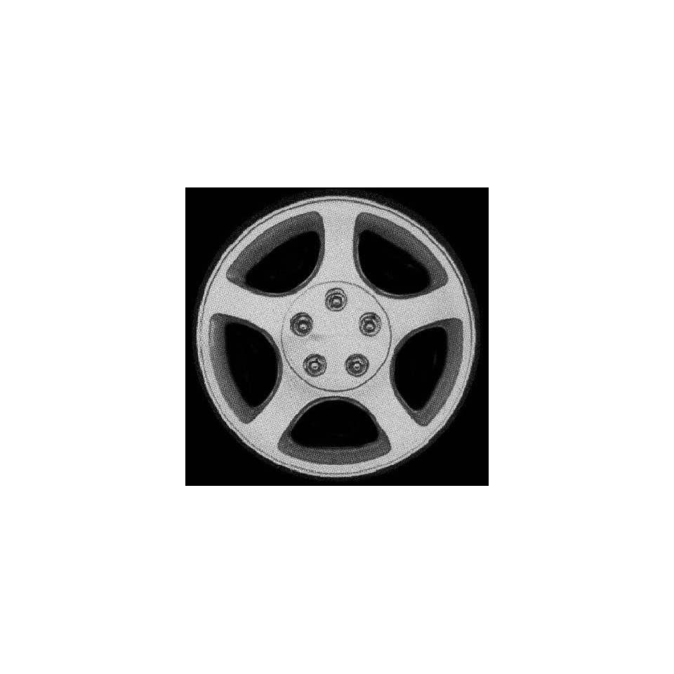 00 03 FORD MUSTANG ALLOY WHEEL RIM 16 INCH, Diameter 16, Width 7.5 (5 SPOKE), SILVER, 1 Piece Only, Remanufactured (2000 00 2001 01 2002 02 2003 03) ALY03375U10