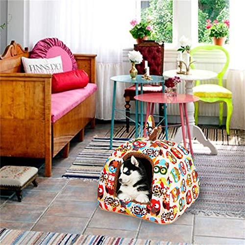Urijk Kleine Tier Haus Nest Gemutlich Warm Plusch Baumwolle Schlafen