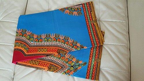 Premium Stoff Afrika * Ganze 6 Meter * 100% Baumwolle, Afrikanischer ...