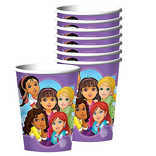 - Nickelodeon Dora the Explorer Birthday Party 9oz of 16x Paper Cup ~ Birthday Party Supplies Favors