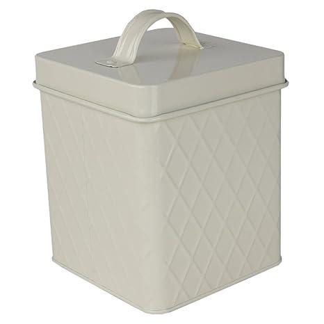 Amazon.com: Home Basics – Caja de almacenamiento de ...