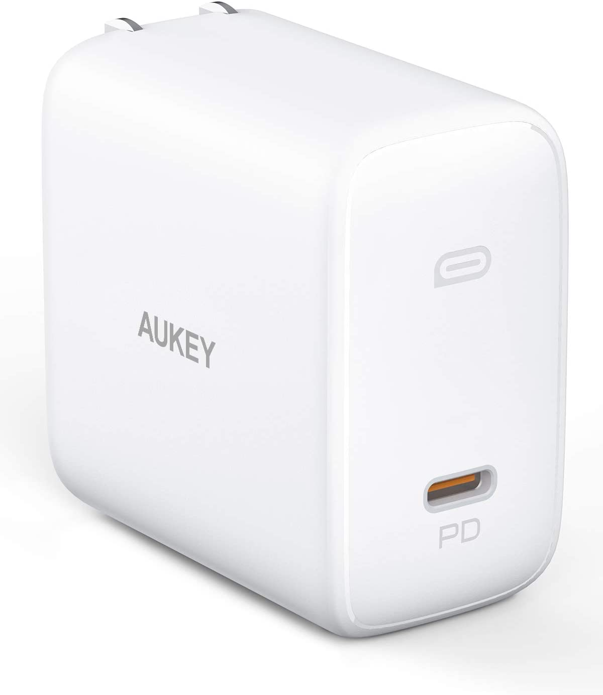 """MacBook Pro Charger 100W, AUKEY Omnia USB C Charger (Upgraded) with GaNFast Technology, PD Charger Power Delivery 3.0 Laptop Charger for MacBook Pro 16"""", iPhone 11 Pro Max, HP Spectre 15"""