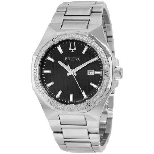 BULOVA Diamonds Men's Quartz Watch 96E111