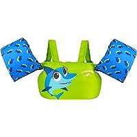 Gogokids Chaleco Flotante de natación para niños pequeños, Chaqueta de Entrenamiento de natación con arnés para Hombros…