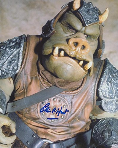 COLIN HUNT as a Gamorrean Guard – Star Wars GENUINE AUTOGRAPH