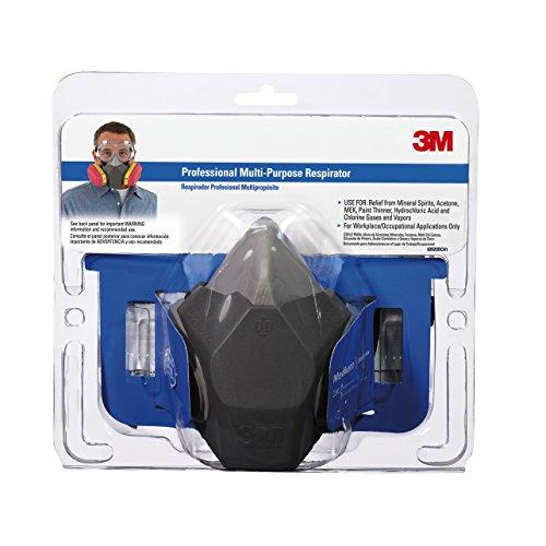 3M 62023DCA1-C Professional Multi-Purpose Respirator, Medium