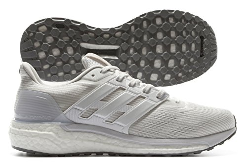 adidas Supernova M, Zapatillas de Running para Hombre Blanco (Grey One /ftwr White/grey Two )