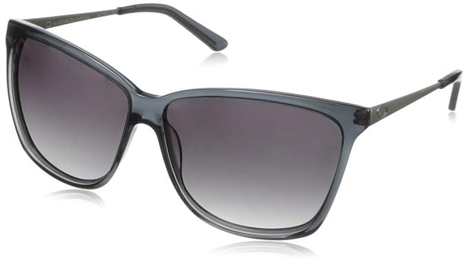 d0802a40d281 O by Oscar de la Renta Eyewear Women's SSC5074 Rectangle Sunglasses,Grey,174  mm
