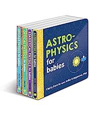 Baby University Physics Board Book Set: Astrophysics for Babies, Statistical Physics for Babies, Optical Physics for Babies, Nuclear Physics for Babies (Baby University Board Book Sets)