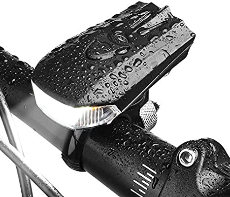 LED Luces Delantera De Bicicleta Potente Brillante Recargable USB ...