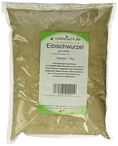 Naturix24 Eibischwurzel Gemahlen, 1er Pack (1 x 1 kg)