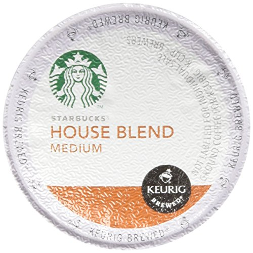 Starbucks House Blend Medium Roast Coffee Keurig K-Cups, 32 Cups