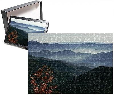 Photo Jigsaw Puzzle of Mist rising from the Cataloochee ski area