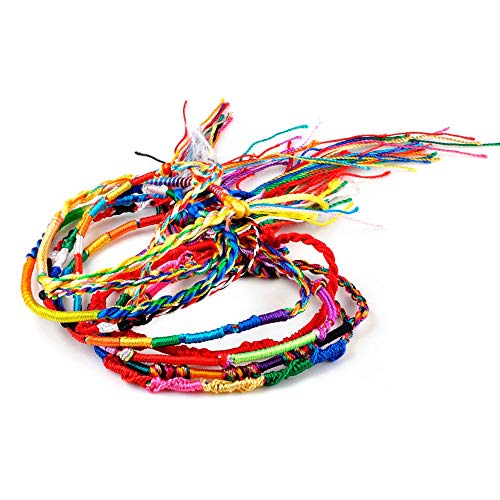 TAFAE pcs/Set Mix Braid Bracelets Women Girls
