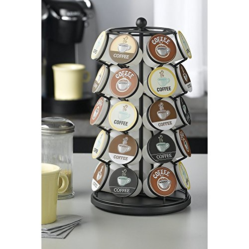 Nifty Home 35 Coffee Pod Carousel - Black