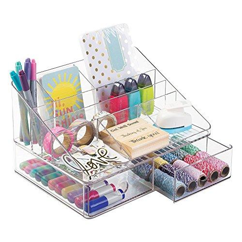mDesign Organizer Scrapbooking Supplies Stickers