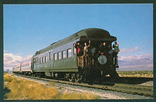 Santa Fe CAFE OBSERVATION CAR Amtrak Desert Wind PULLMAN Train Railroad (Amtrak Cafe Car)