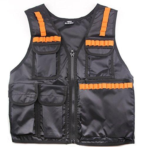 Hero-Blasters-Kids-Army-Combat-Tactical-Vest-for-Nerf-N-strike-Elite-Mega-Rival-Balls-Fits-Ages-8