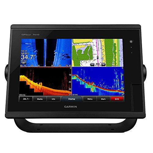 Garmin GPSMAP 7610 10 Chartplotter w/J1939 Port, LakeV252; HD & g2 Charts by Garmin