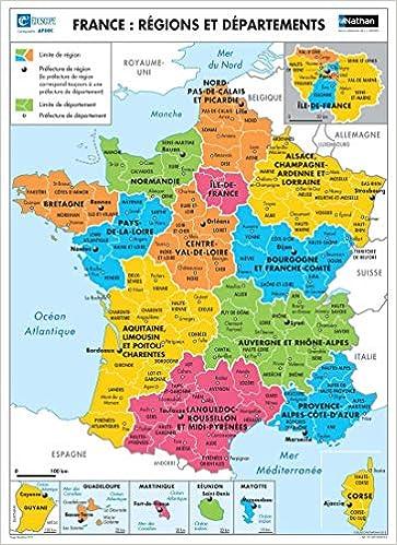 La France Relief Regions Et Departements Cartes Murales Geographie French Edition Mathieu Jean Louis 3133090526734 Amazon Com Books