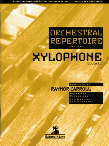 BT-2505 - Orchestral Repertoire for the Xylophone Volume 1