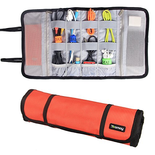 Teamoy Organizer Earphones Holders Orange