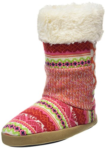 Multicolor Boot Memory With bajas Bright Combo DearfoamsTall 10977 Foam Patchwork para mujer Zapatillas 6Ox4xZwq