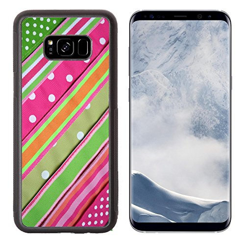 - Luxlady Samsung Galaxy S8 Plus S8+ Aluminum Backplate Bumper Snap Case IMAGE ID 277543 Preppy background